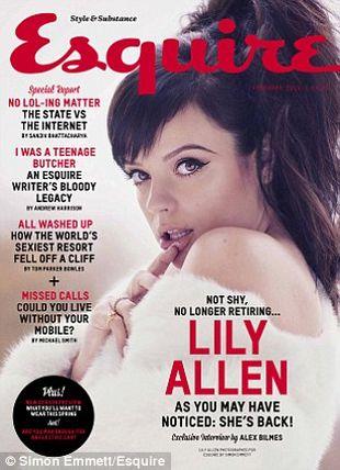 Lily Allen o show-biznesie: piep*eni, nabotoksowani idioci