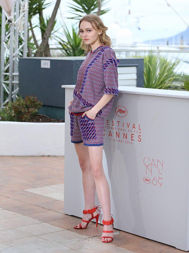 Lily Rose Depp zosta�a twarz� nowego produktu Chanel (FOTO)