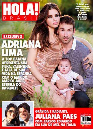 Adriana Lima chwali się mężem i córeczką (FOTO)