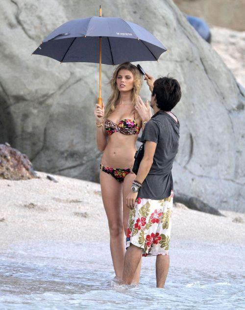 Maryna Linchuk pozuje dla Victoria`s Secret