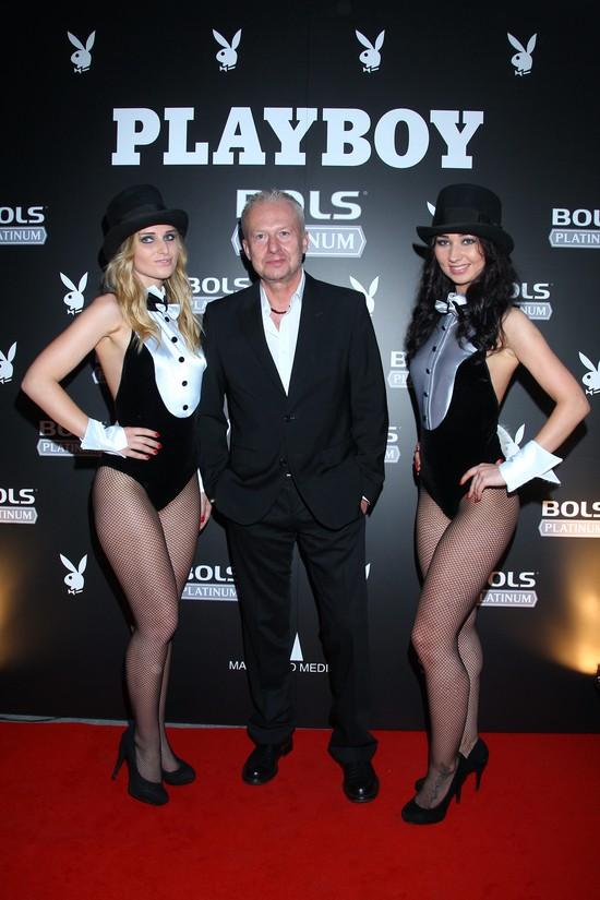 Bogusław Linda z Bols Platinum na imprezie Playboya (FOTO)