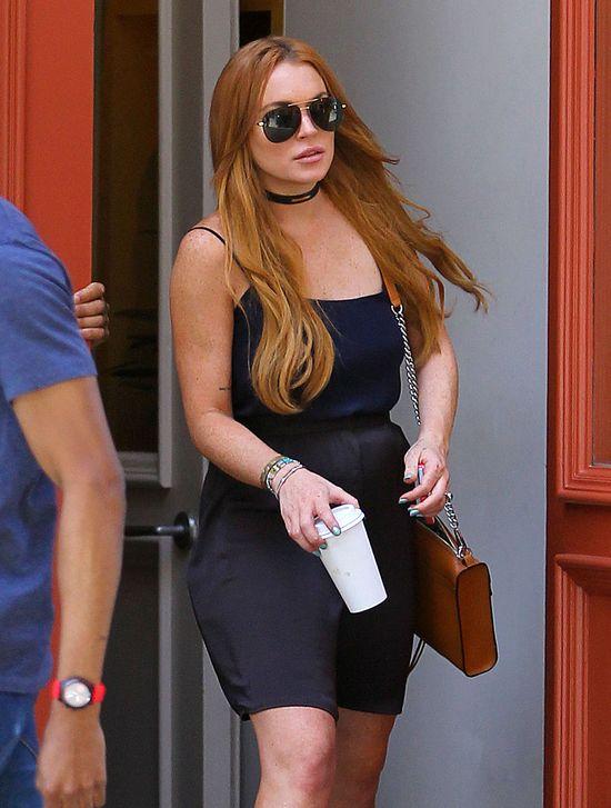 Lindsay Lohan wydaje 2500$ na swojego sponsora