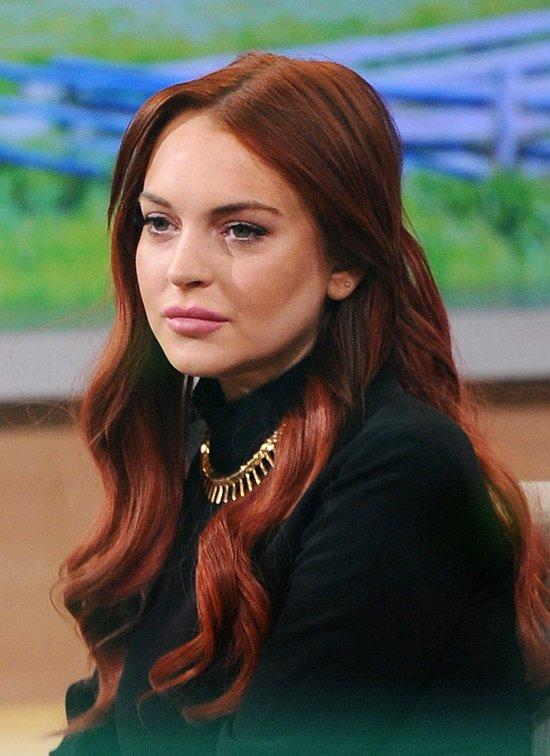 Po Lindsay Lohan nie widać narkotykowych przygód (FOTO)