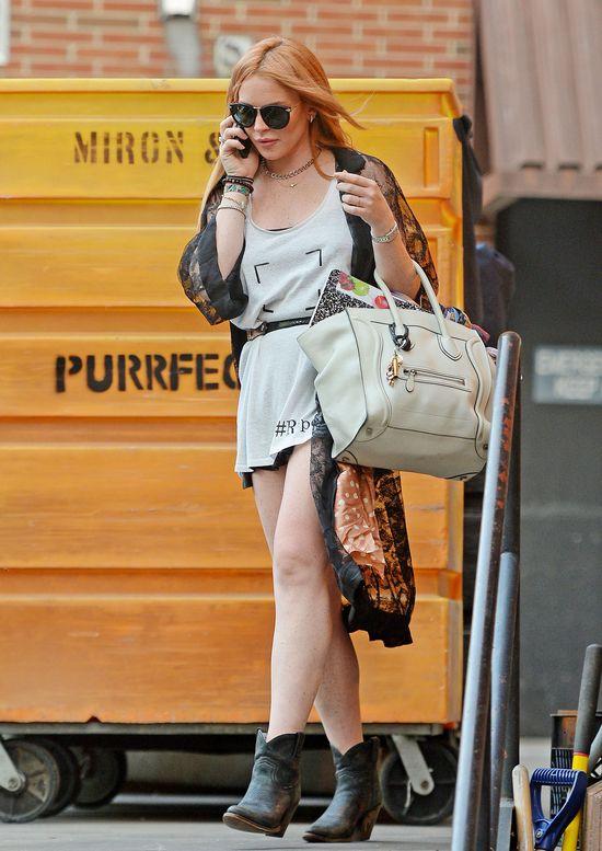 18-letni kochanek Lindsay Lohan: Jesteś śmieciem!
