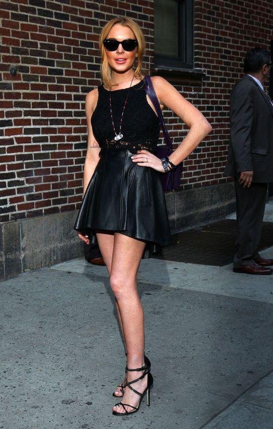 Lindsay Lohan chce zagrać w Pięćdziesięciu twarzach Greya