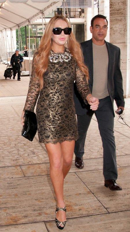 Co się stało z twarzą Lindsay Lohan? (FOTO)