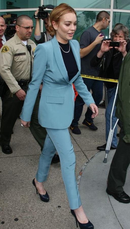 Lindsay Lohan znów przed sądem (FOTO)