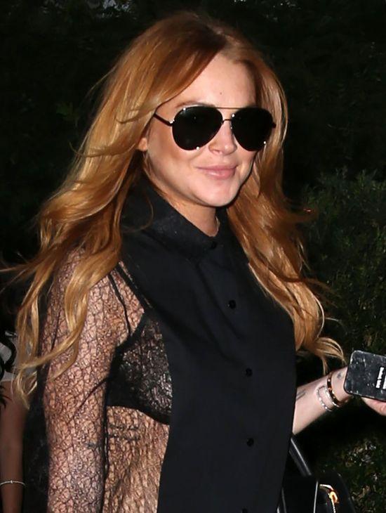 Ciężarna Lindsay Lohan nie przestaje pić i imprezować