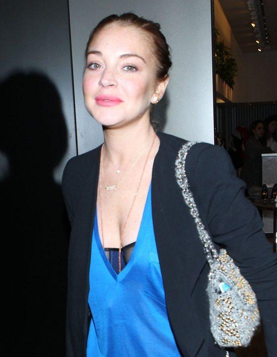 Lindsay Lohan zrobiła z siebie głupka