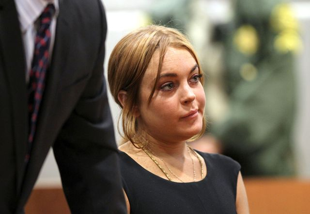 Lindsay Lohan złodziejką?