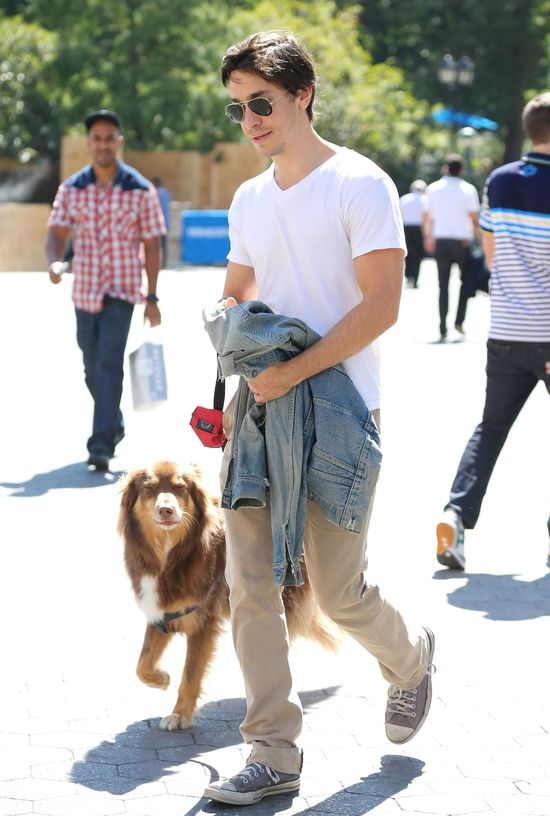 Justin Long z najfajniejszym psem Hollywood