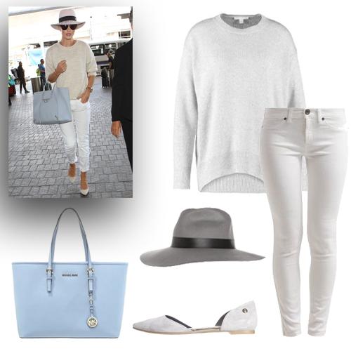Kobiecy styl Rosie Huntington - Whiteley!