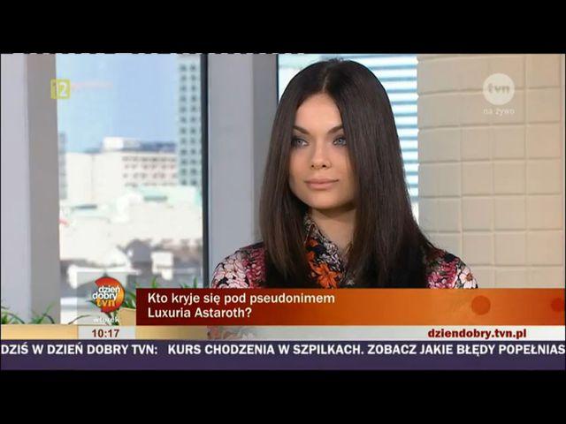 Luxuria Astaroth: Pluję szatanowi w twarz!