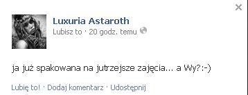 Luxuria Astaroth wie, jak szokowa� (FOTO)