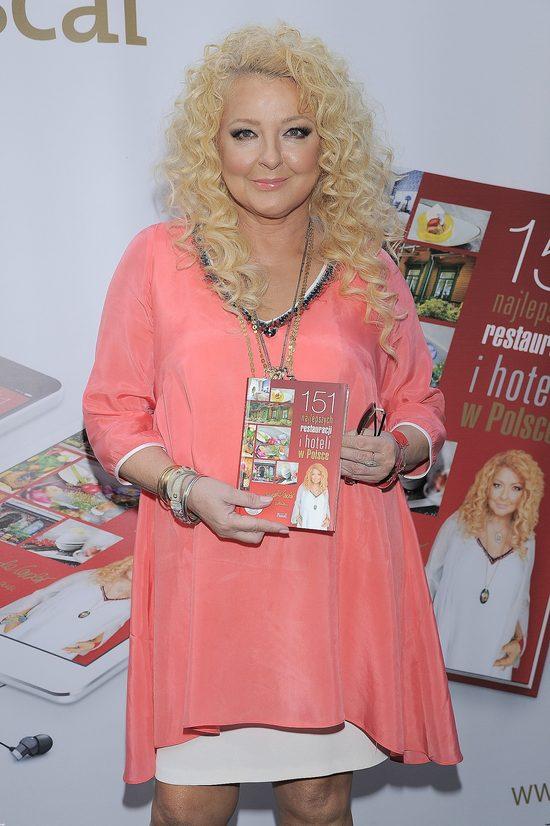 Odchudzona Magda Gessler promuje książkę (FOTO)