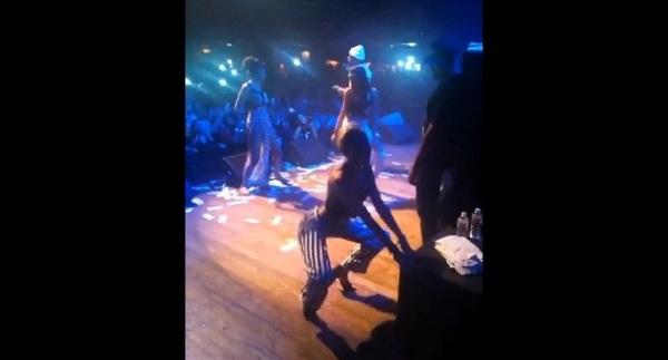 Tak się bawi Miley Cyrus (VIDEO)