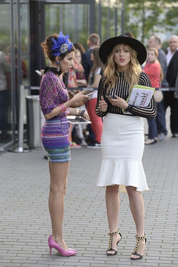 Macademian Girl i Jessica Mercedes na finale Top Model FOTO