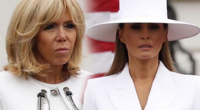 Brigitte Macron szczera do bólu o Melanii Trump