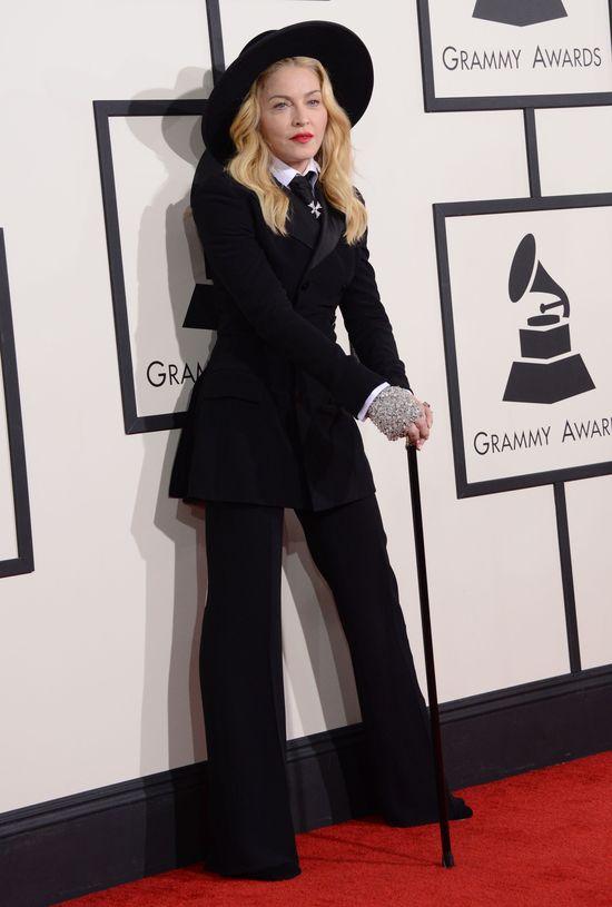 Plejada gwiazd na rozdaniu nagród Grammy (FOTO) madonna