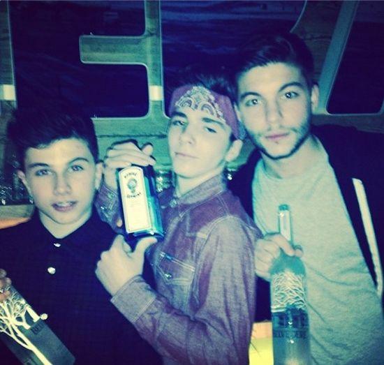 Madonna pije z 13-letnim synem! (FOTO)