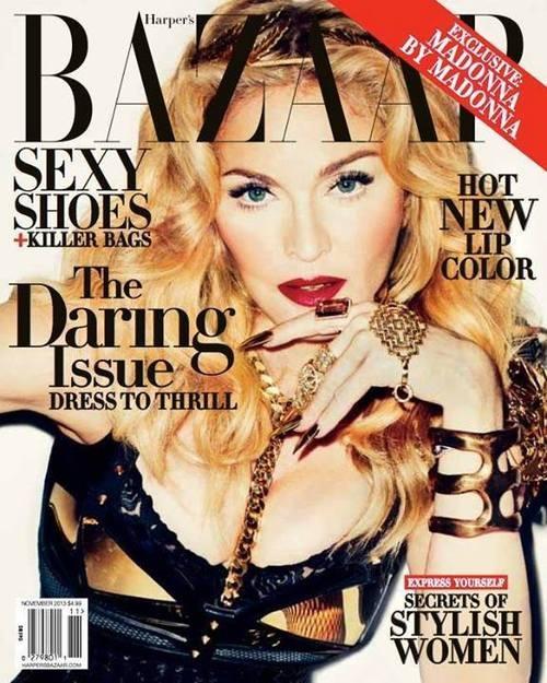 Madonna na okładce Harper's Bazaar - retusz doskonały? FOTO