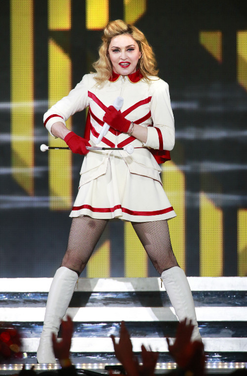 Madonna i Anne Hathaway na najgorętszym balu sylwestrowym