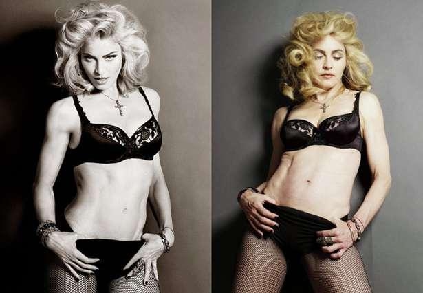 Madonna bez retuszu - widać, że ma 56 lat (FOTO)