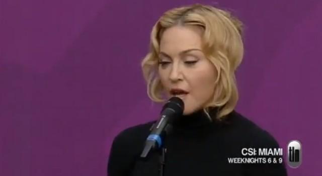 Twarz Madonny paskudnie spuchła (FOTO)