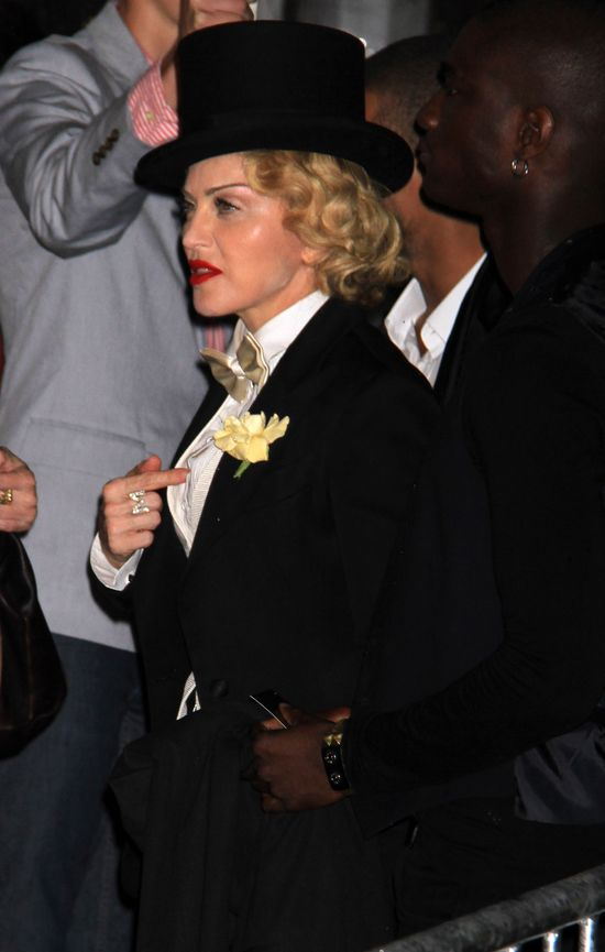 Madonna jak Marlene Dietrich  (FOTO+VIDEO)