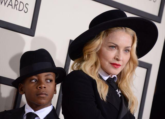Madonna zabrała syna na Grammy (FOTO) syna Madonny