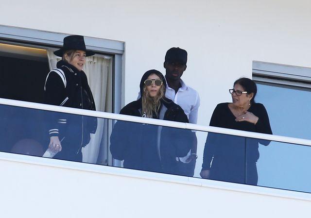 Madonna przy�apana na rodzinnych wakacjach (FOTO)