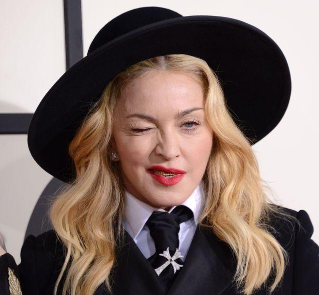 Co powiecie na Madonnę bez makijażu? (FOTO)
