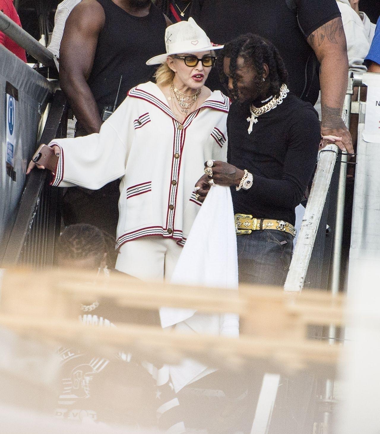 Madonna zabrała GŁOS w sprawie swoich pośladków