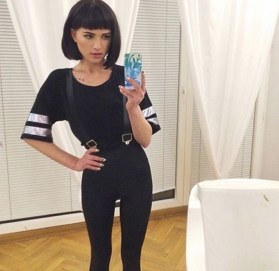 Polska blogerka cienka jak kartka papieru (FOTO)