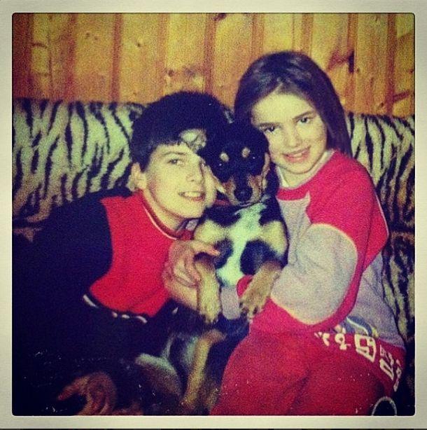 Maffashion pokazała słodkie foto z dzieciństwa (FOTO)