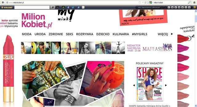 Maffashion redaktorką naczelną portalu MilionKobiet.pl