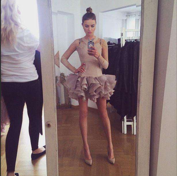 Te nogi nie należą do modelki (Instagram)