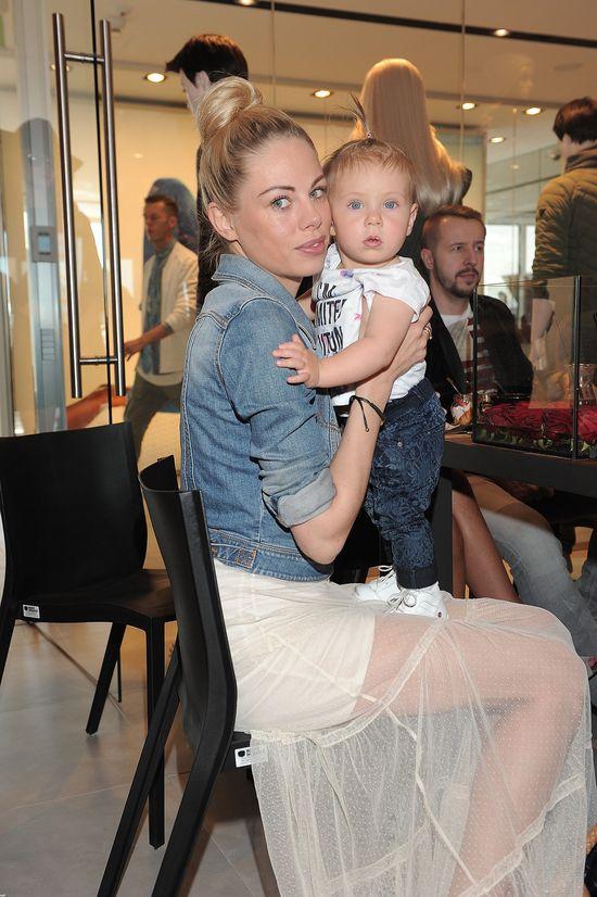 Magda Modra pokazała na salonach synka (FOTO)