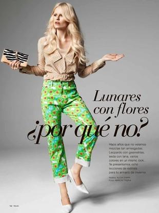 Magda Roman w sesji dla hiszpańskiego magazynu Telva