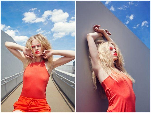 Neonowa Magda Roman (FOTO)