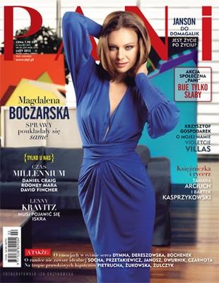 Magdalena Boczarska na okładce Pani (FOTO)