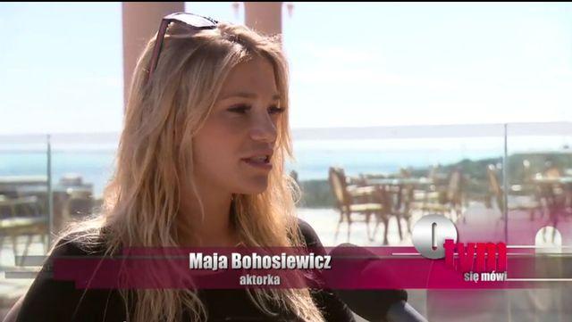 Maja Bohosiewicz: Dziewictwo? Był to... żart
