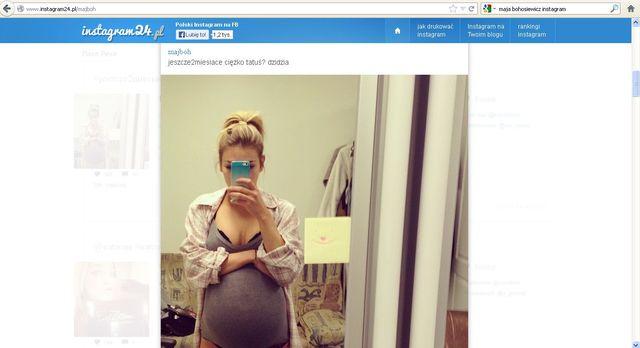 Maja Bohosiewicz w 7. miesiącu ciąży?! (FOTO)