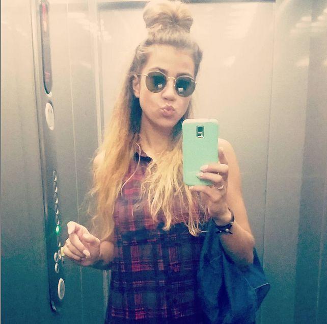 Maja Hyży została blondynką (Instagram)