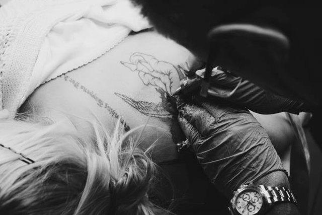 Sablewska chwali się nowym tatuażem (FOTO)