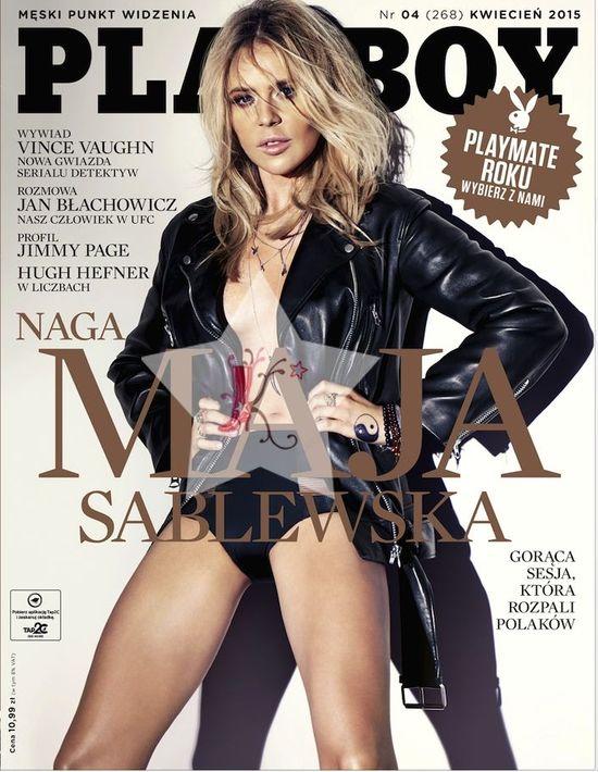 Maja Sablewska SAMA wyretuszowała swoje zdjęcia z Playboya!