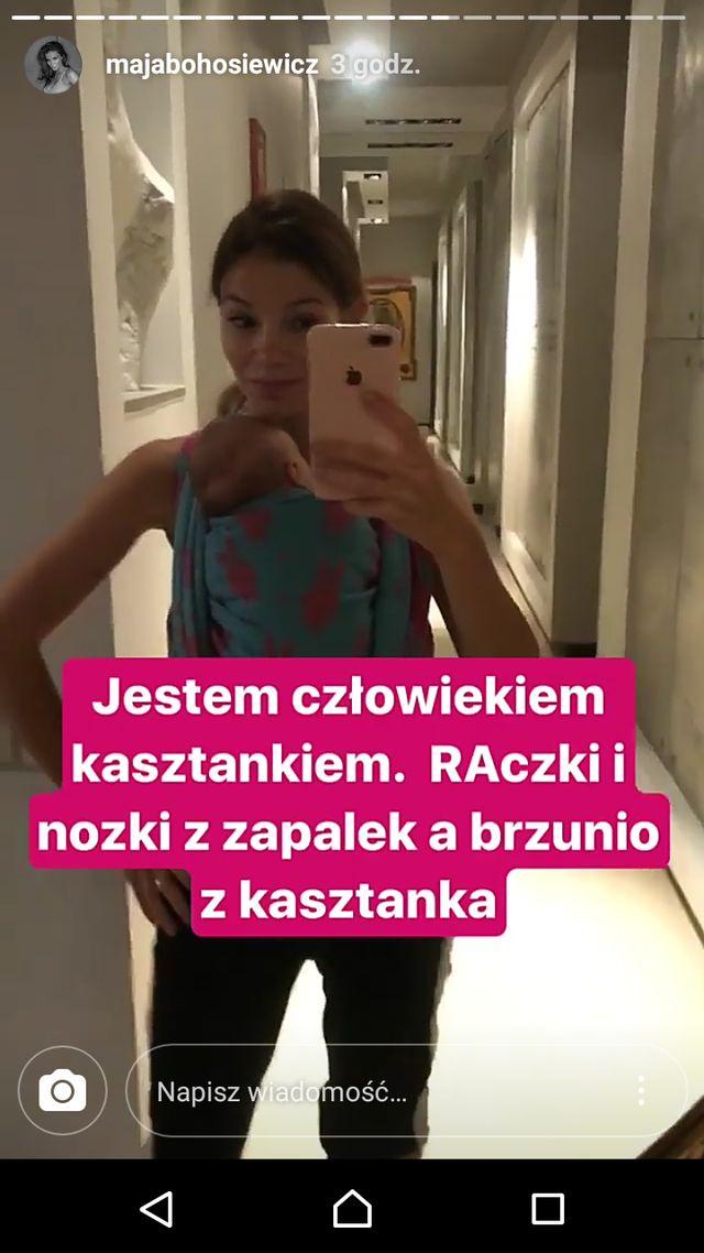 Maja Bohosiewicz pokazuje nie do końca idealny brzuszek po ciąży