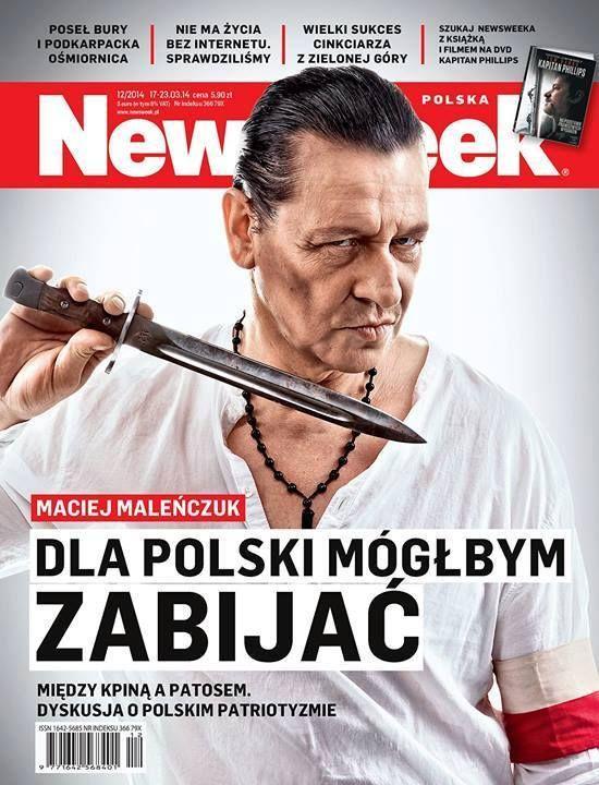 Czy Maciej Maleńczuk poszedłby na wojnę? (FOTO)