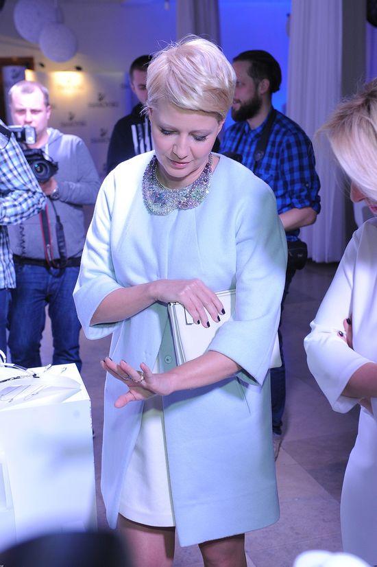Małgorzata Kożuchowska zabiera Jasia do pracy
