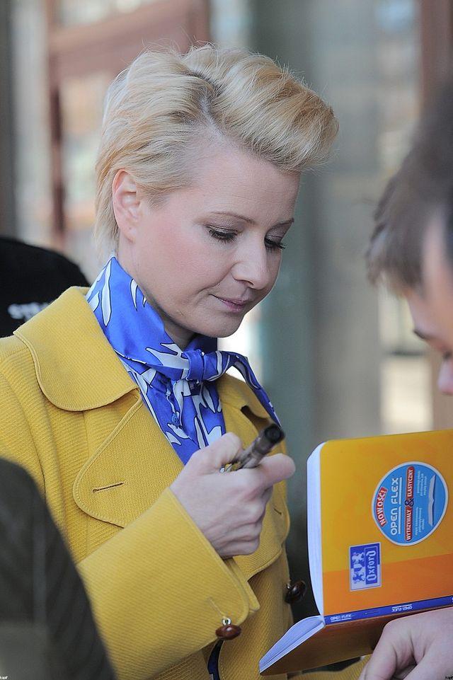 Małgorzata Kożuchowska kwitnie w ciąży! (FOTO)